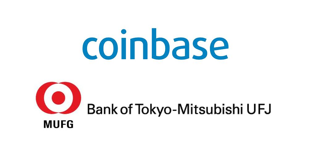 Coinbase y El Banco de Tokyo Mitsubishi UFJ realizaron asociación