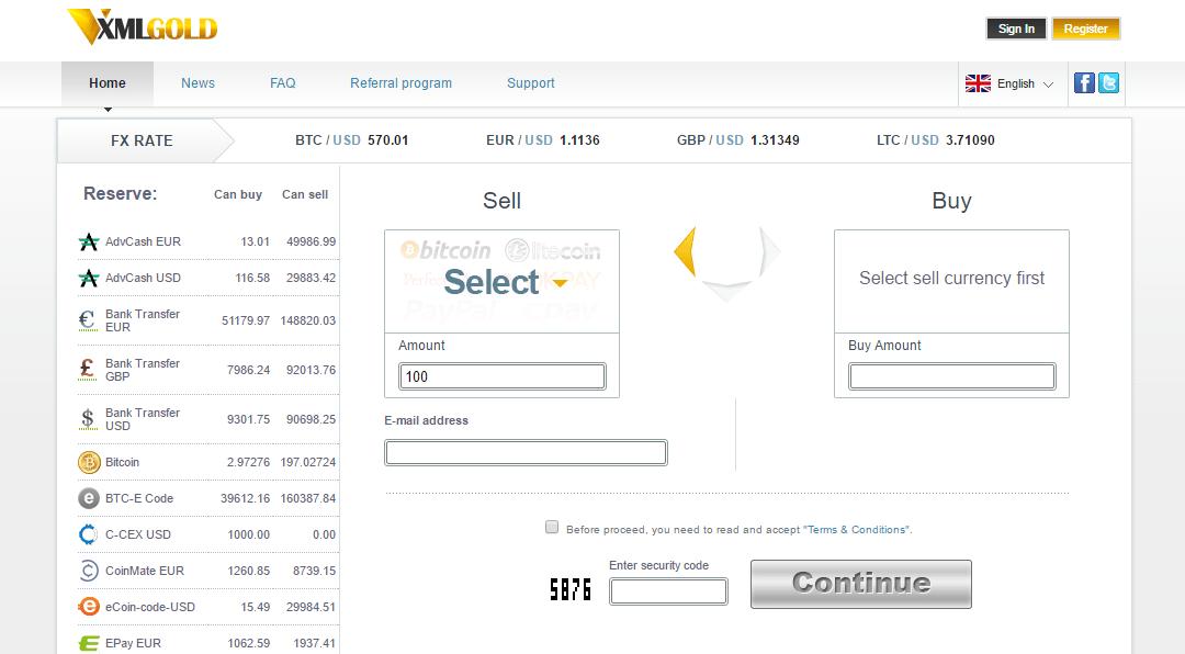 La prestigiosa casa de cambio XMLGold ofrece grandes ofertas a sus clientes Bitcoin