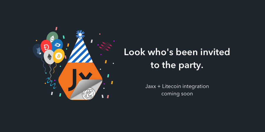 La cartera Jaxx integrará Litecoin a todas sus plataformas