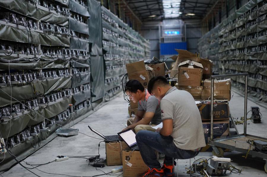 Mineros en China procesan 70% de las transacciones de la red Bitcoin