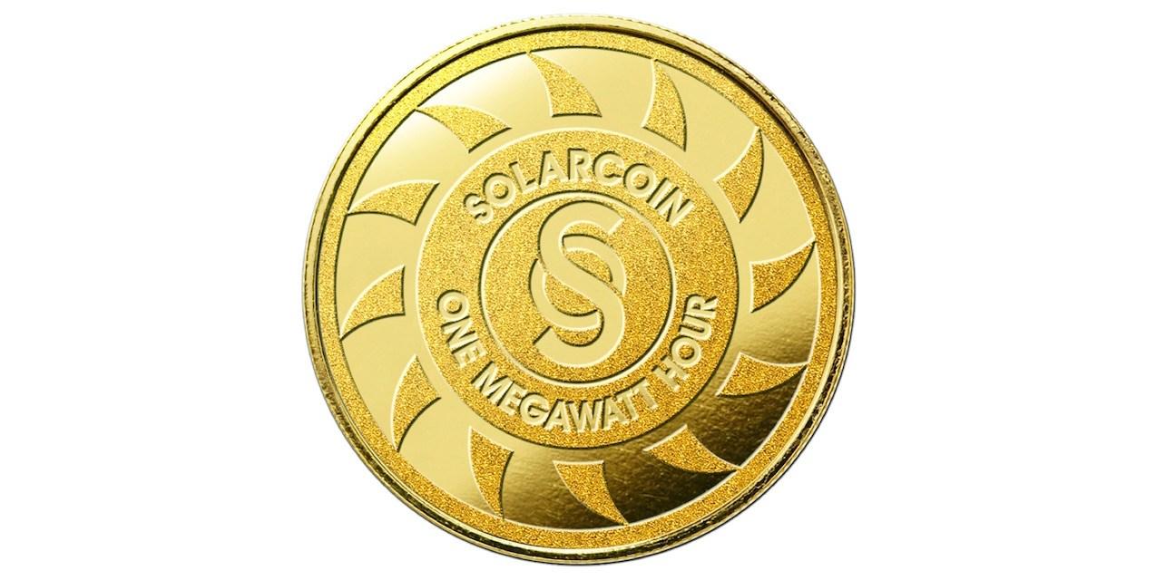 Conozca SolarCoin (SLR), una criptomoneda ecológica