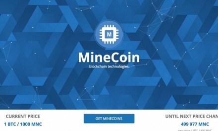 La plataforma Minex abre suscripción de criptomoneda MineCoin