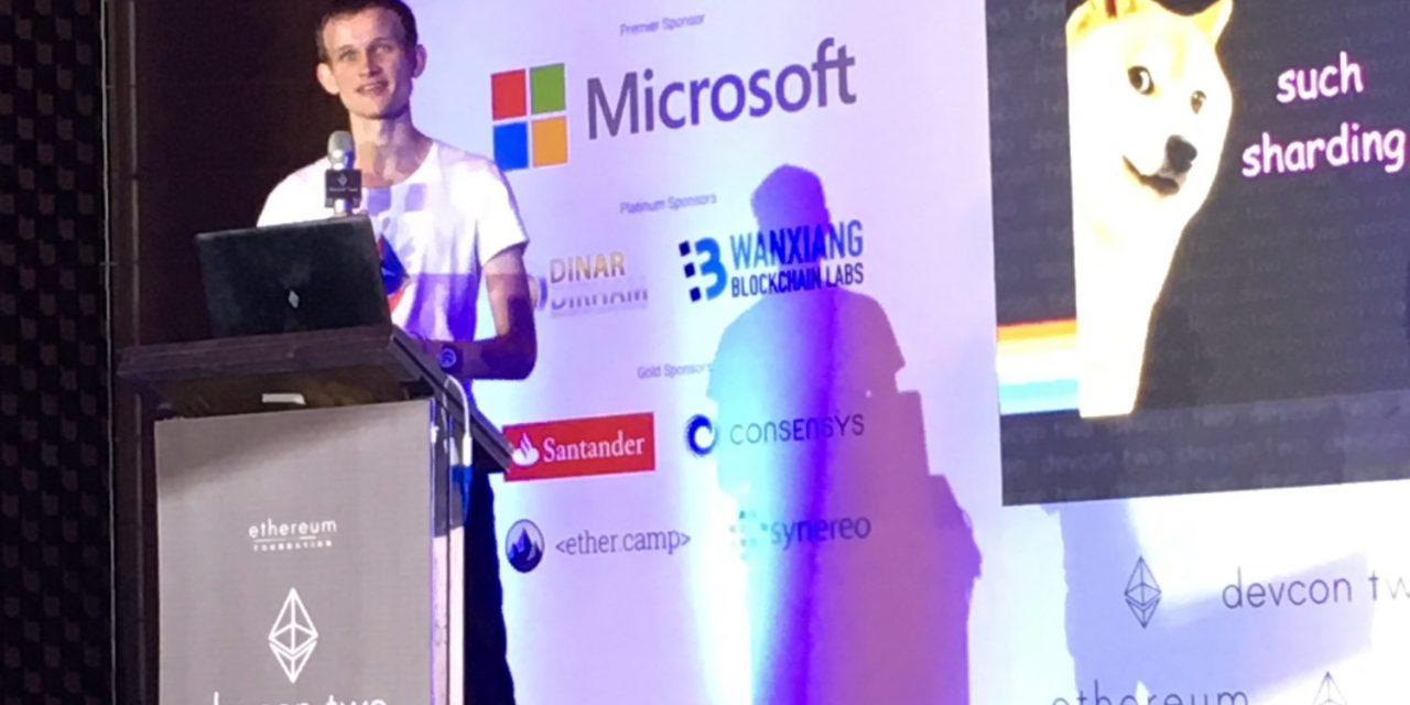 Escalabilidad, Ethereum 2.0 y PoS: lo que habló Vitalik Buterin en el primer día del DevCon2