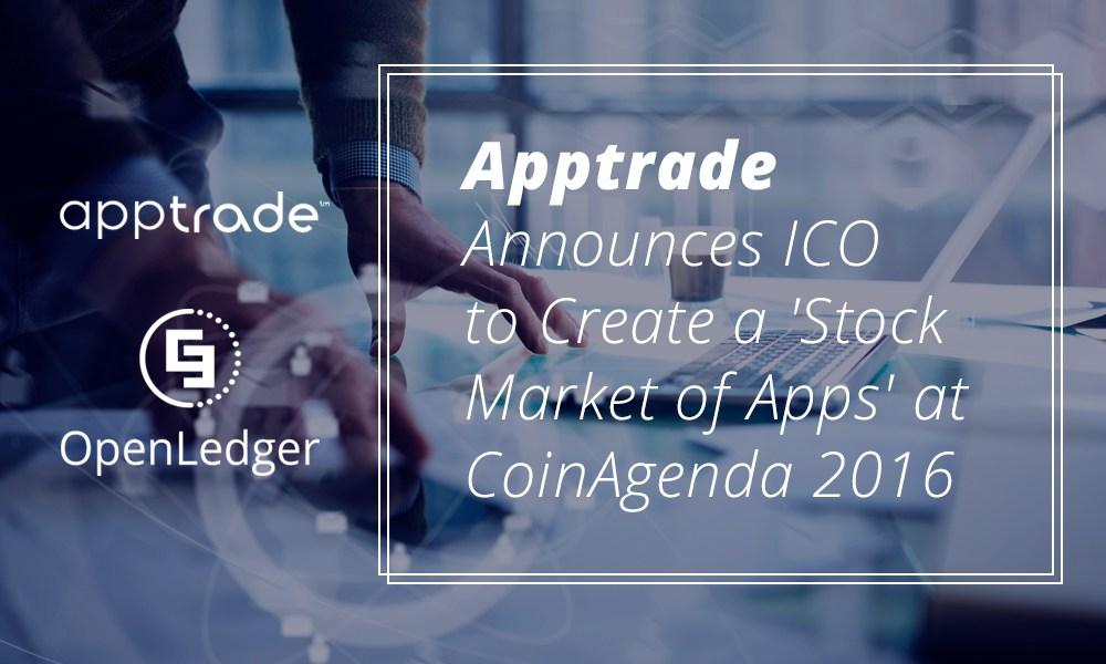 Apptrade anuncia ICO para crear un mercado accionario de apps