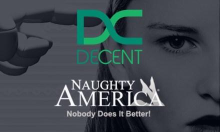 Naughty America registrará contenidos en la blockchain de DECENT