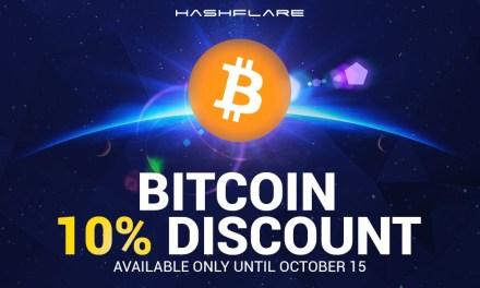 Los contratos de por vida de minería en nube de Bitcoin son más económicos con Hashflare