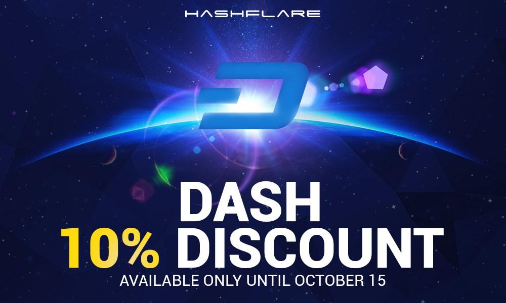 HashFlare rebaja los precios de su minería en nube de Dash, BTC, ETH y LTC.