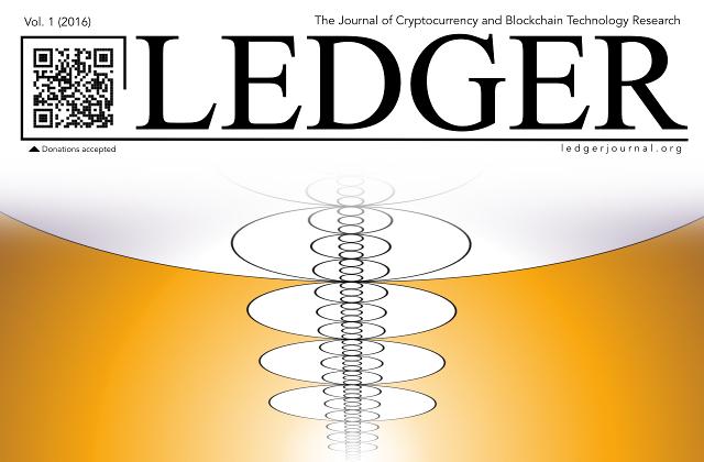 Primer volumen del diario académico sobre Blockchain y criptomonedas ya está disponible