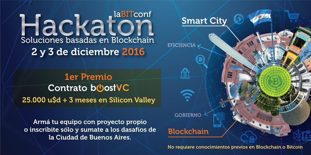 Emprendimiento con Blockchain vuelve a medirse en LaBitconf Hackaton de Argentina