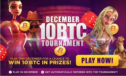 Entrada libre al torneo de 10BTC en mBit Casino