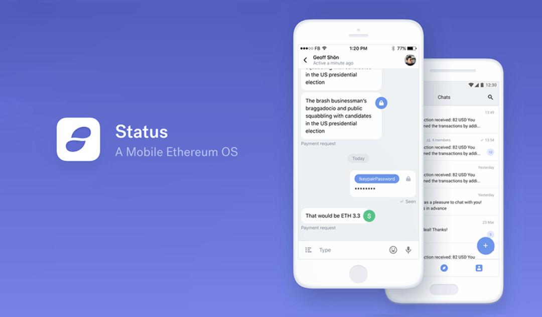 Status.im, un cliente móvil Ethereum dirigido a Android e iOS, es lanzado en versión Alpha