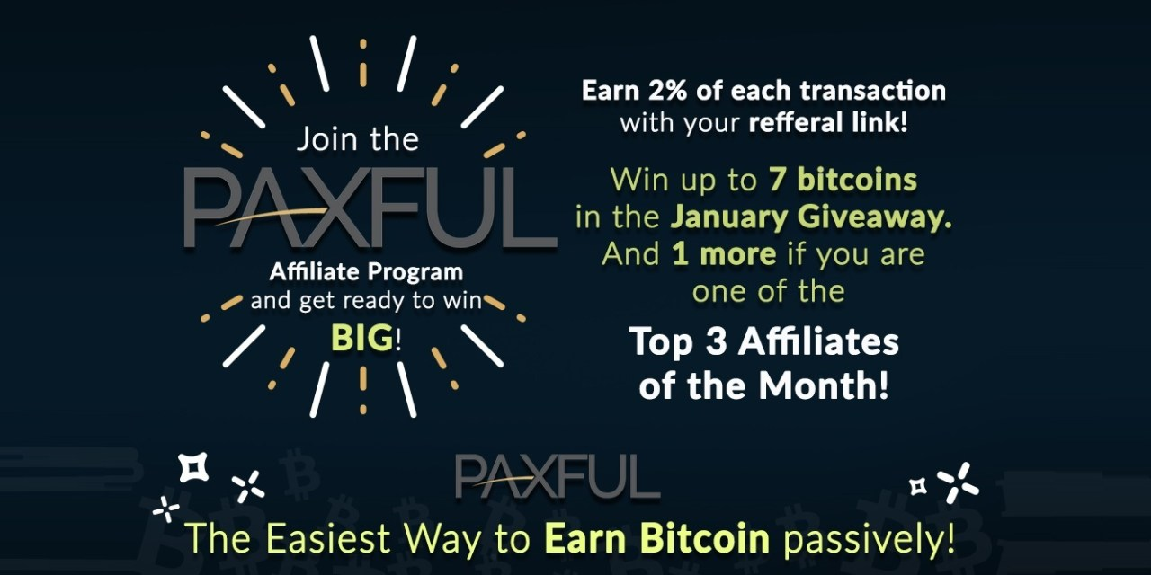 Gana hasta 8 bitcoins con el concurso de Paxful