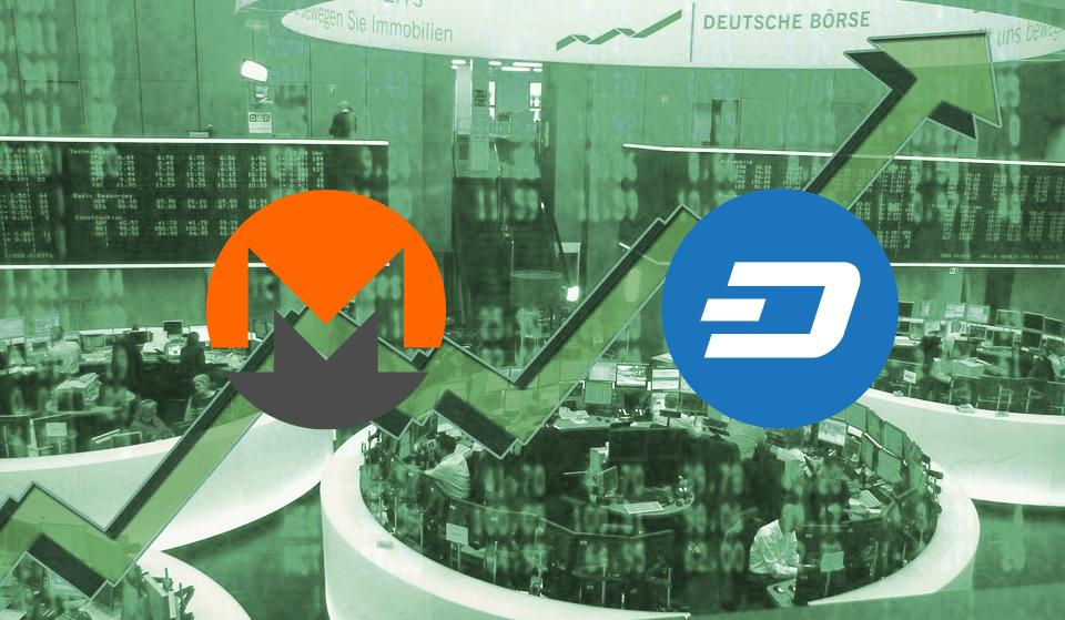 Monero y DASH escalan en el mercado en pleno 'pump and dump' de Bitcoin