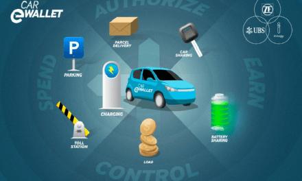 Automóviles eléctricos usarán carteras digitales gracias a UBS, ZF e Innogy