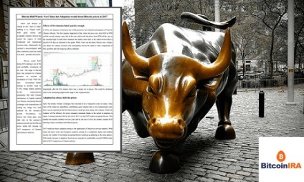 Bitcoin IRA cruza el hito de $ 4.000.000 y lanza reporte semanal Bitcoin Bull Watch