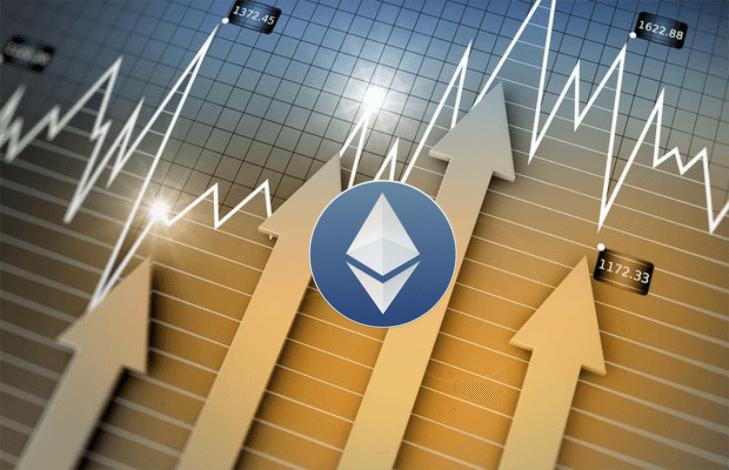 Precio del Ether continúa su ascenso en los mercados y registra máximo en 2017