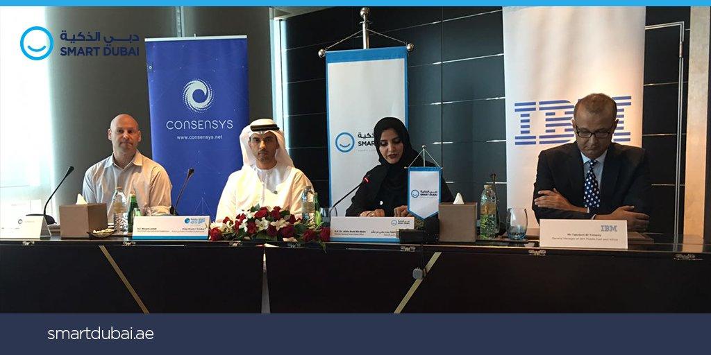 Dubai implementará blockchain para gobierno de la mano de IBM y Consensys