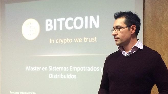 """Santiago Márquez: """"La revolución que cambiará el mundo se producirá al juntar blockchain y dinero"""""""