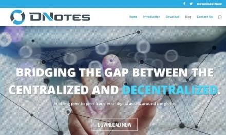 DNotes lanza nuevo sitio web – pretende cerrar brecha entre mundos centralizado y descentralizado