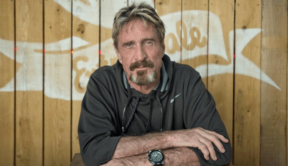 Compañía de John McAfee comenzará a minar Ethereum