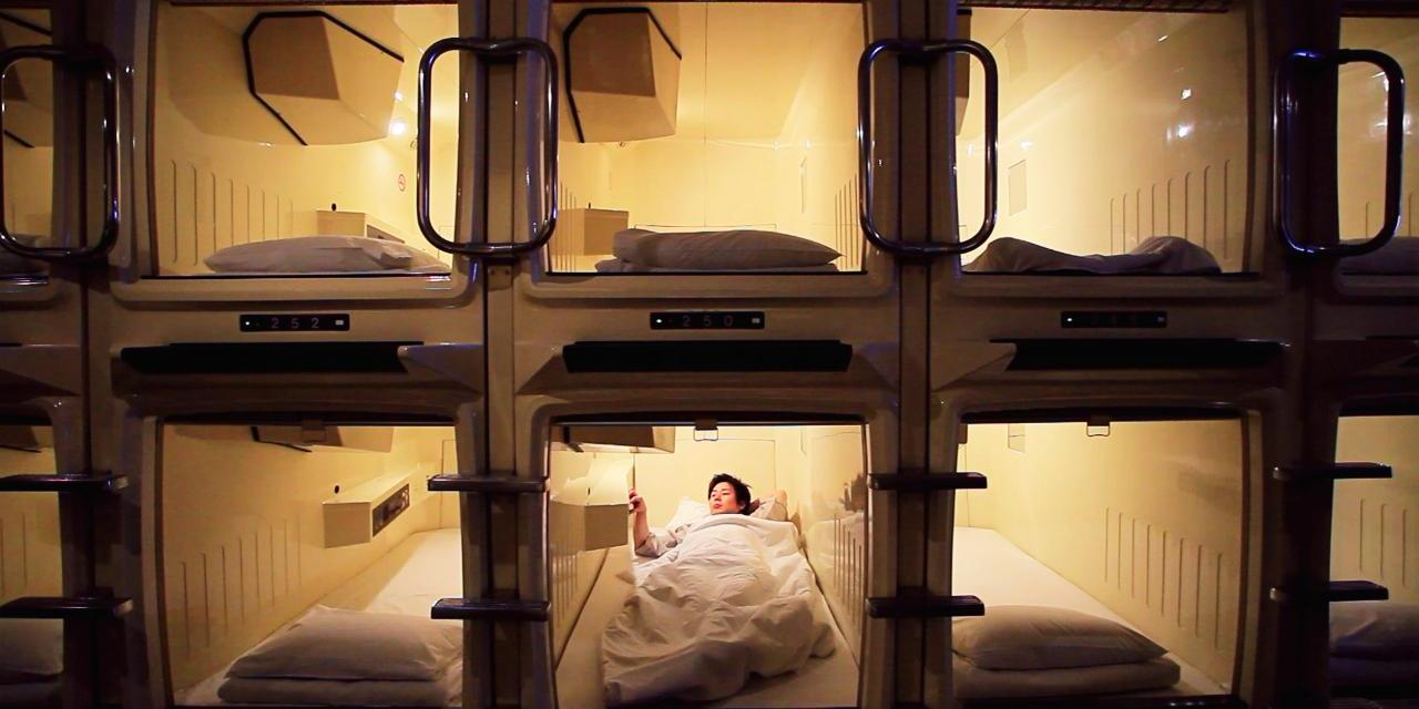 Populares hoteles 'cápsula' de Japón comienzan a aceptar bitcoin