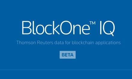 Thomson Reuters Corp utilizará BlockOne IQ para conectar datos a plataformas blockchain