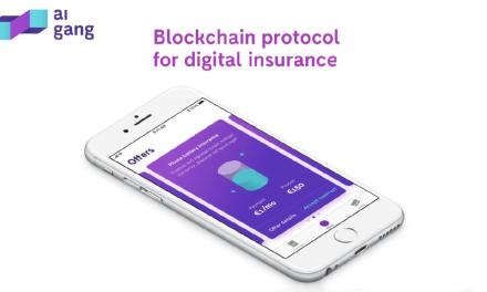 Aigang, protocolo Blockchain de seguro digital, lanza App demo para dispositivos IoT