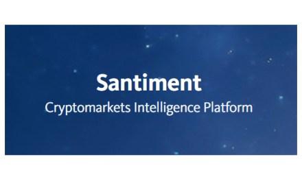 Arranca la Oferta de Criptoactivos de Santiment, la plataforma para la información de mercados