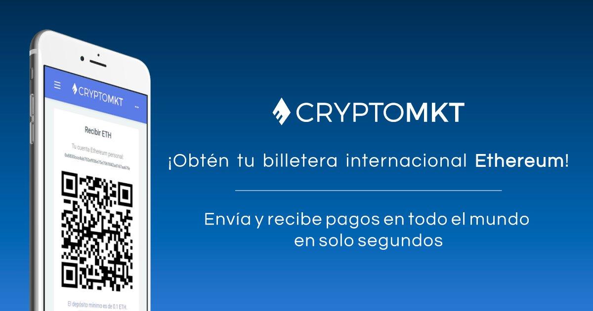CryptoMKT extenderá sus servicios financieros con Ethereum a usuarios en Argentina