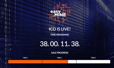 ICO de software de minería easyMINE está cerca de alcanzar su tercera etapa