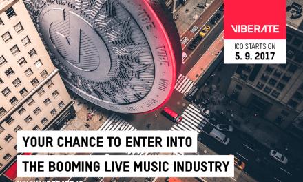 Viberate: tecnología blockchain al servicio de la música en vivo