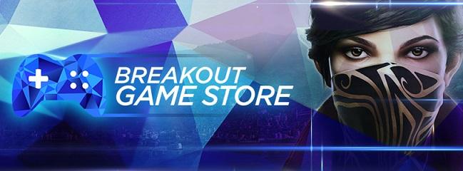 Tienda de juegos Breakout acepta criptomoneda BRK