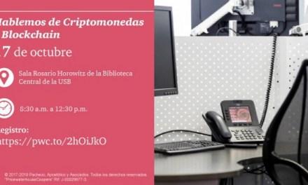 El próximo 17 de octubre tendrá lugar la edición universitaria de 'Hablemos de Criptomonedas y Blockchain' en Caracas
