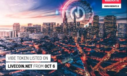 Token de la plataforma musical Viberate se comerciará en la casa de cambio Livecoin