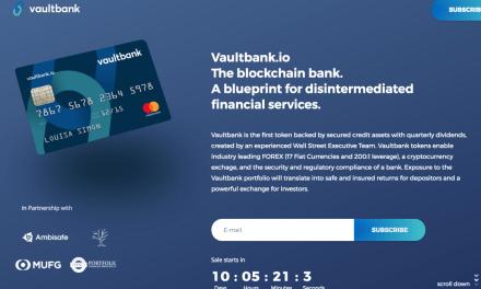 Vaultbank.io llega con dividendos en Ether y Cripto respaldada en activos