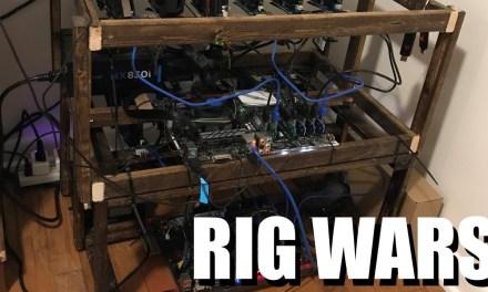 Youtuber realiza uno de los primeros concursos de ensambles de rigs de minado con GPU