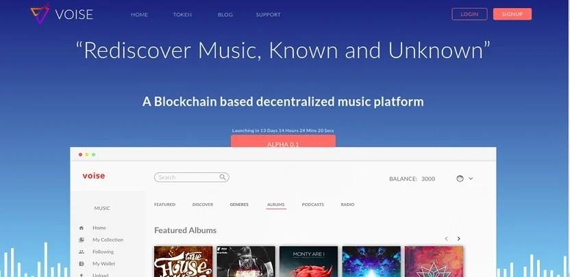 VOISE, Plataforma Blockchain de Artistas Musicales, cerca de lanzar su versión Alpha