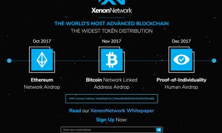 Blockchain XenonNetwork derivada de EOS comenzará distribución masiva de tokens