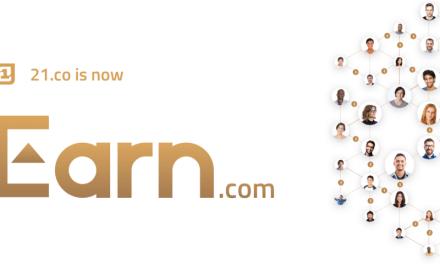 21.co cambia su imagen comercial a Earn.com