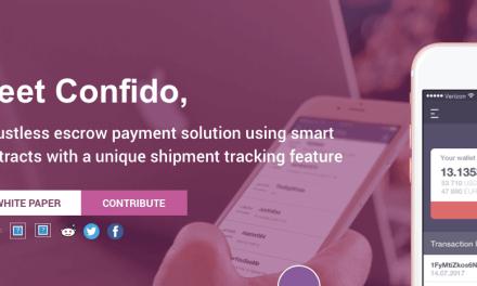 Confido anuncia suspensión de su proyecto blockchain y reembolso a los inversionistas