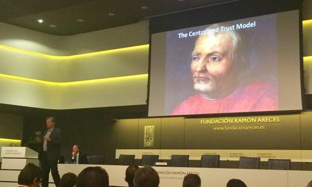 Michael Casey dijo hoy en Madrid que blockchain cambiará los cimientos de la economía digital
