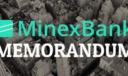 Minexcoin llega a los exchanges con su algoritmo autónomo regulador de volatilidad MINEXBANK, precio aumenta 9 veces