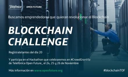 Primer Hackathon Blockchain de Telefónica será en Madrid