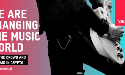 La plataforma blockchain para música en vivo Viberate anuncia un nuevo esquema de recompensas