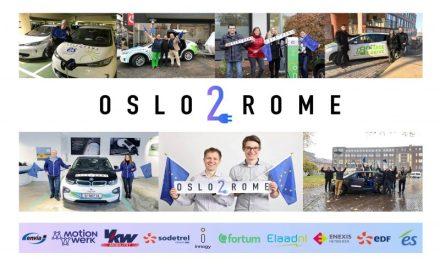 Oslo2Rome: es posible viajar por Europa recargando carros eléctricos con contratos inteligentes