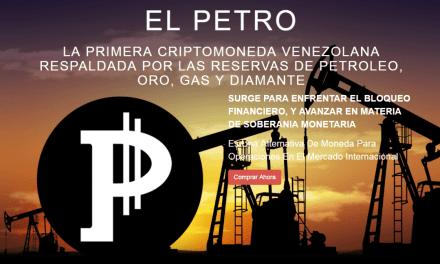 Pagina web usurpa identidad de la criptomoneda venezolana Petro