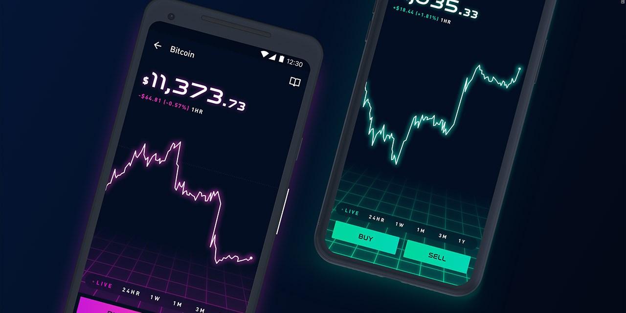 App de microinversiones Robinhood hará trading de criptoactivos sin comisiones