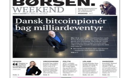Pionero Danés del Bitcoin, Ronny Boesing, detrás de la Cripto Startup Openledger