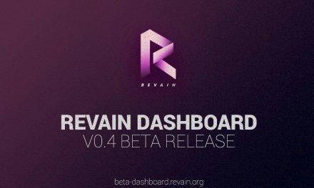 Revain anuncia el lanzamiento de su Dashboard 0.4