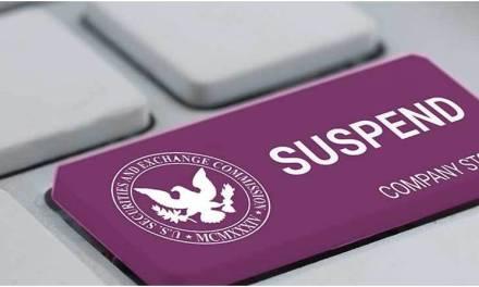 SEC suspende operaciones de empresa china tras sospechoso aumento en sus acciones